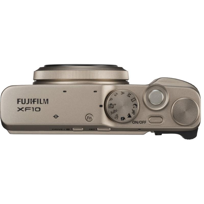 Fujifilm XF10, gold