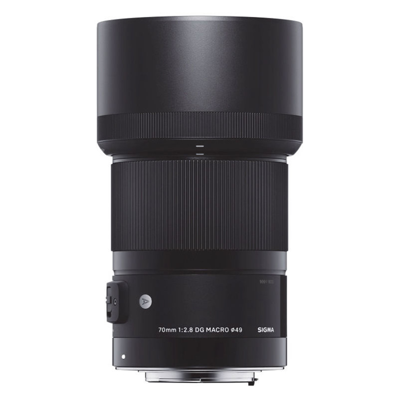 Sigma 70mm f/2.8 DG Macro Art objektiiv Canonile