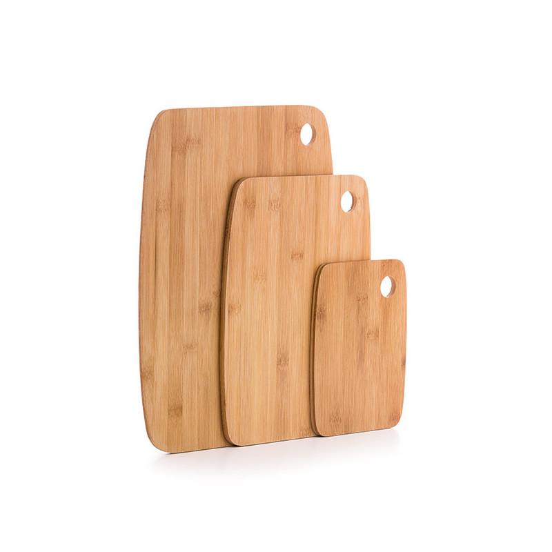 Taketokio Bamboo Cutting Board Set 3 Pieces Cutting Boards
