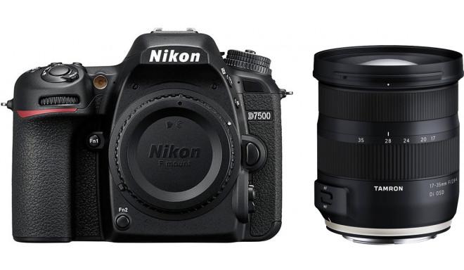 Nikon D7500 + Tamron 17-35mm OSD