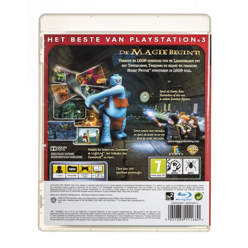 best leuk gewoonte winkel Game Playstation 3 (PS3) Lego Harry Potter Years 1-4 (BOX; DVD; ENG; from 7  years old)