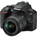 Nikon D3500 + 18-55 AF-P VR Kit, black