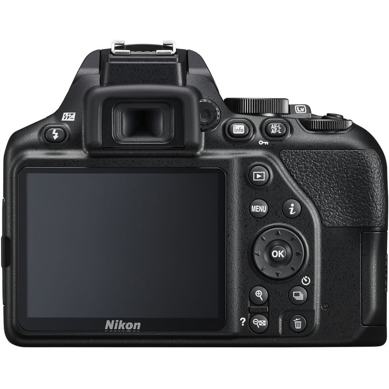 Nikon D3500 + 18-105mm AF-S VR Kit, must