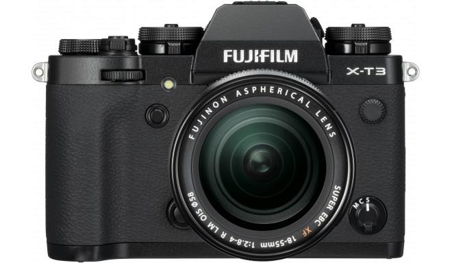 Fujifilm X-T3 + 18-55mm Kit, must