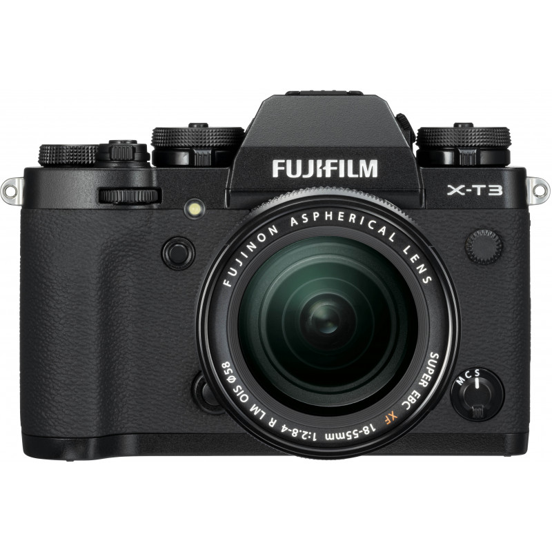 Fujifilm X-T3 + 18-55 мм Kit, черный