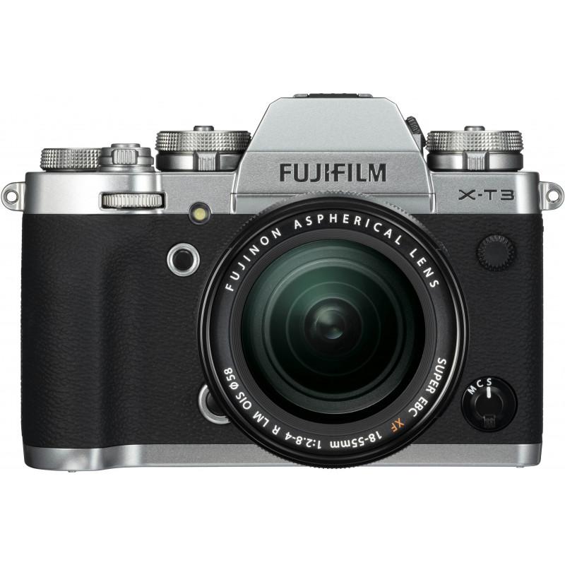82428228328 Fujifilm X-T3 + 18-55mm Kit, silver - Mirrorless cameras - Photopoint
