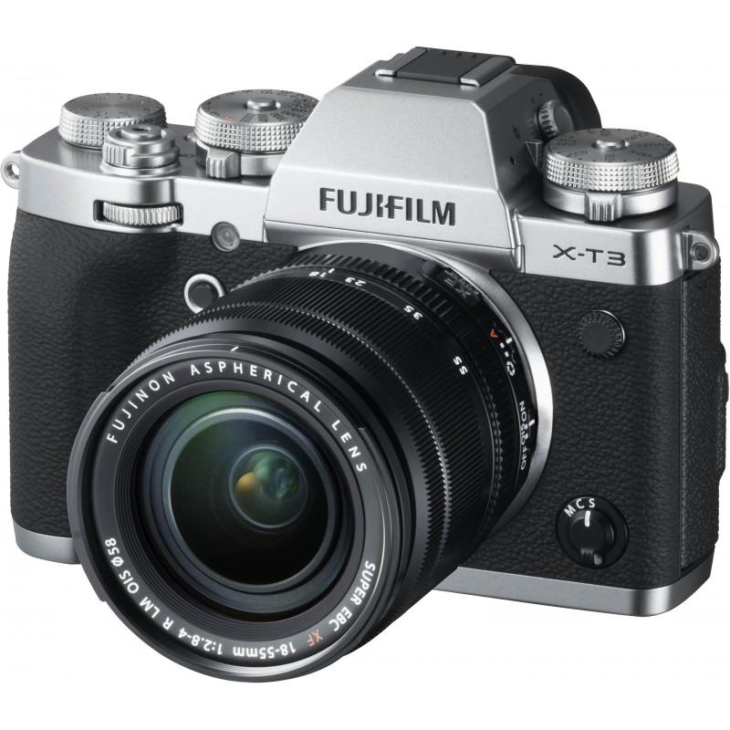 516d0775247 Fujifilm X-T3 + 18-55mm Kit, hõbedane - Hübriidkaamerad - Photopoint