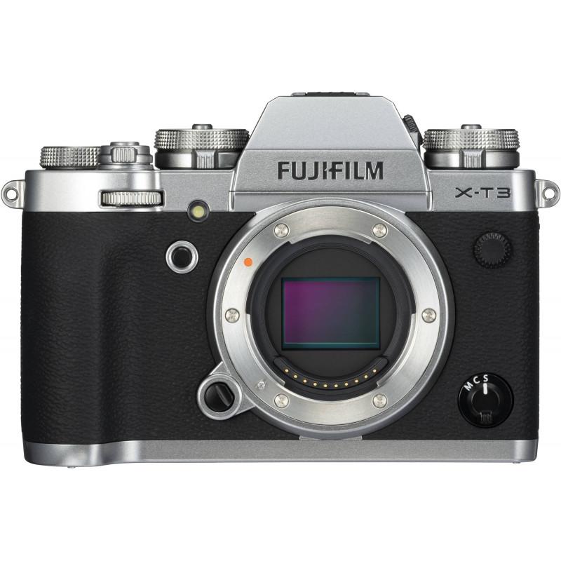 Fujifilm X-T3 body, silver