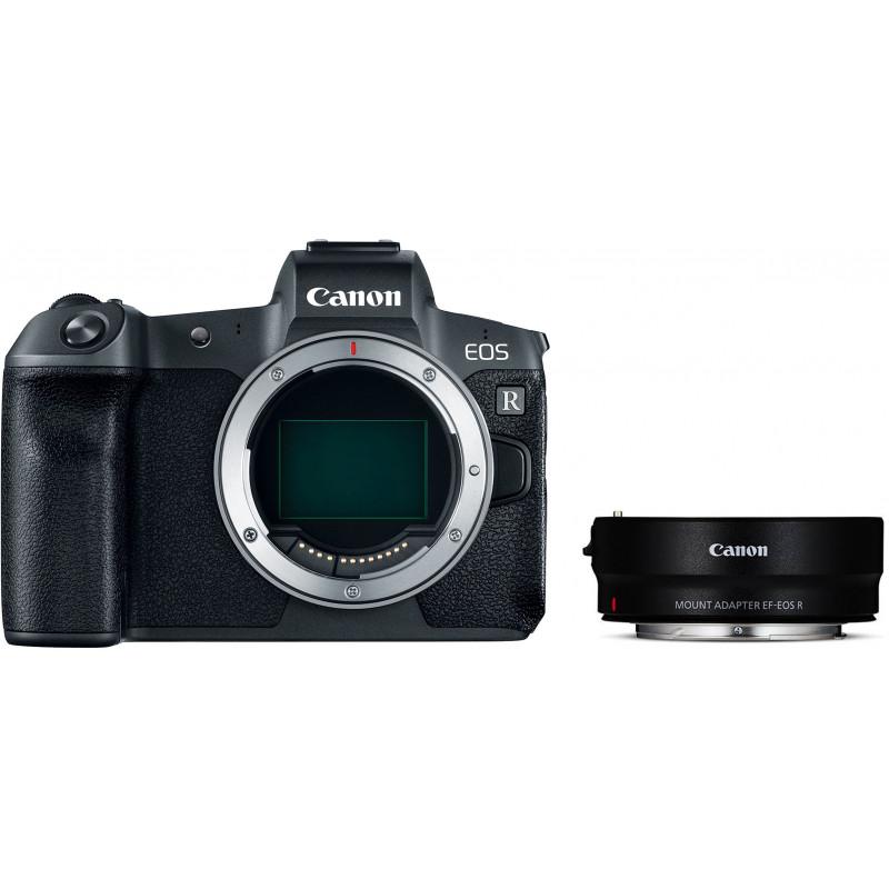 Canon EOS R корпус + адаптер для объектива EF-EOS-R