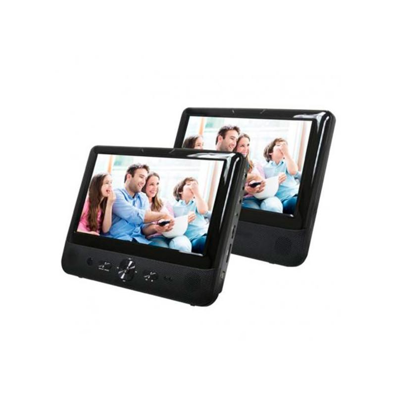 Portable DVD Player Denver Electronics MTW 984TWIN 9 LCD Black