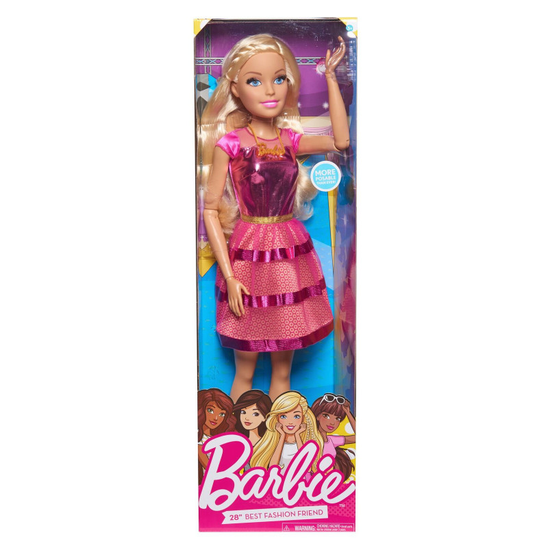 cb623476c3e JUST PLAY BARBIE Nukk, 72 cm - Nukutarbed - Photopoint