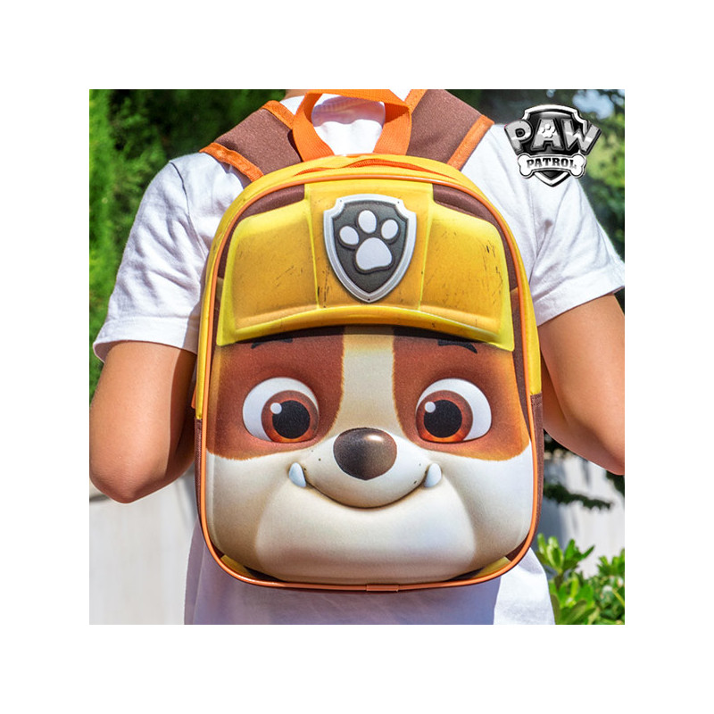 02dccb39e359 Rubble (Paw Patrol) 3D School Backpack - Children's bags - Photopoint