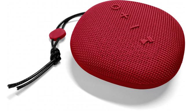 Platinet juhtmevaba kõlar Hike PMG11 BT, punane (44481)
