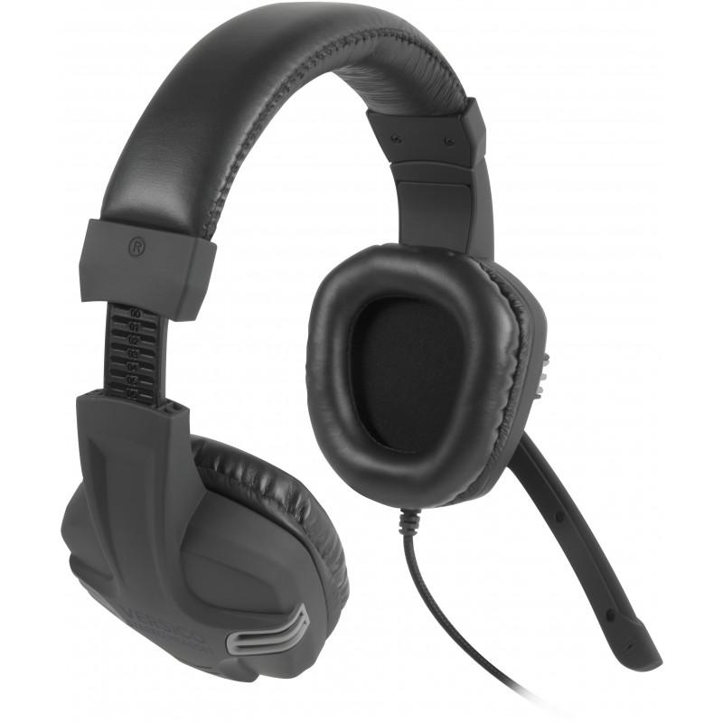 Speedlink headset Versico, black/grey (SL-870001-BKGY-01)