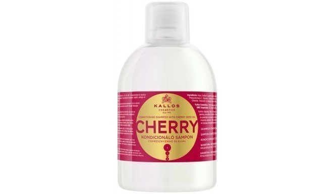 Kallos šampūns Cherry 1000ml
