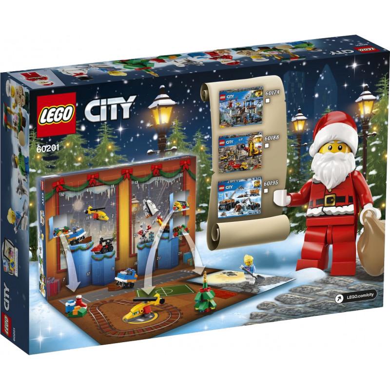 LEGO City adventes kalendārs 2018 (60201)