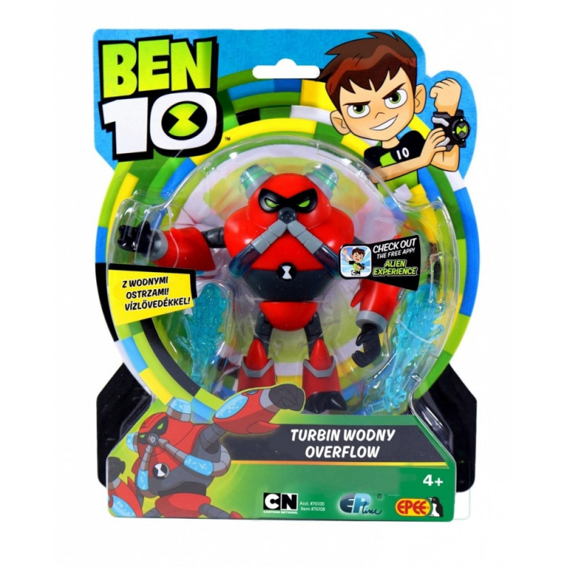 Figurine Ben 10 13 cm Overflow - Toy figures - Photopoint