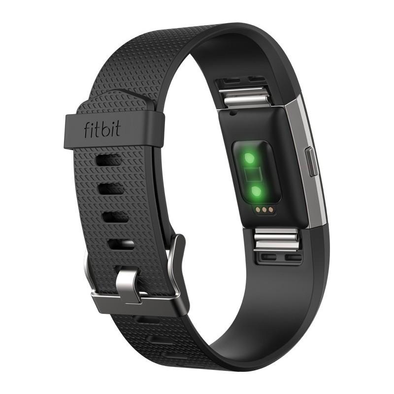 Fitbit aktiivsusmonitor Charge 2 S, must/hõbedane