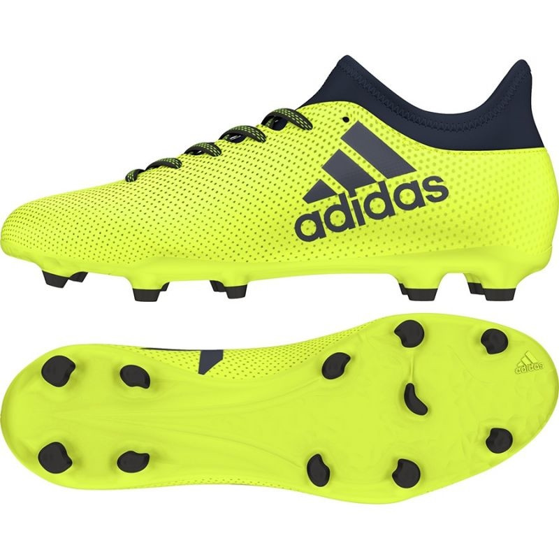 0ffed4d443a7 Men s football shoes adidas X 17.3 FG M S82366 - Training shoes ...