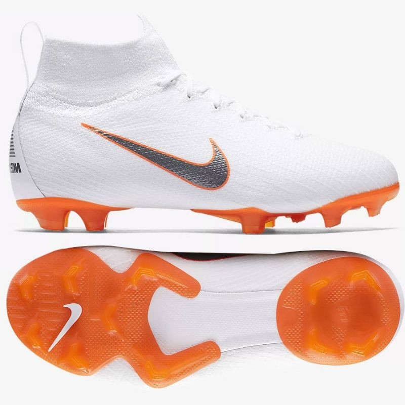 077ceb65a Kids football shoes Nike Mercurial Superfly 6 Elite FG Jr AH7340-107 ...