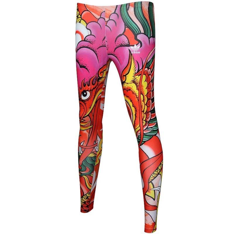 1bf82f1541aa03 Women's casual tights adidas ORIGINALS Rita Ora Dragon Print W A96217