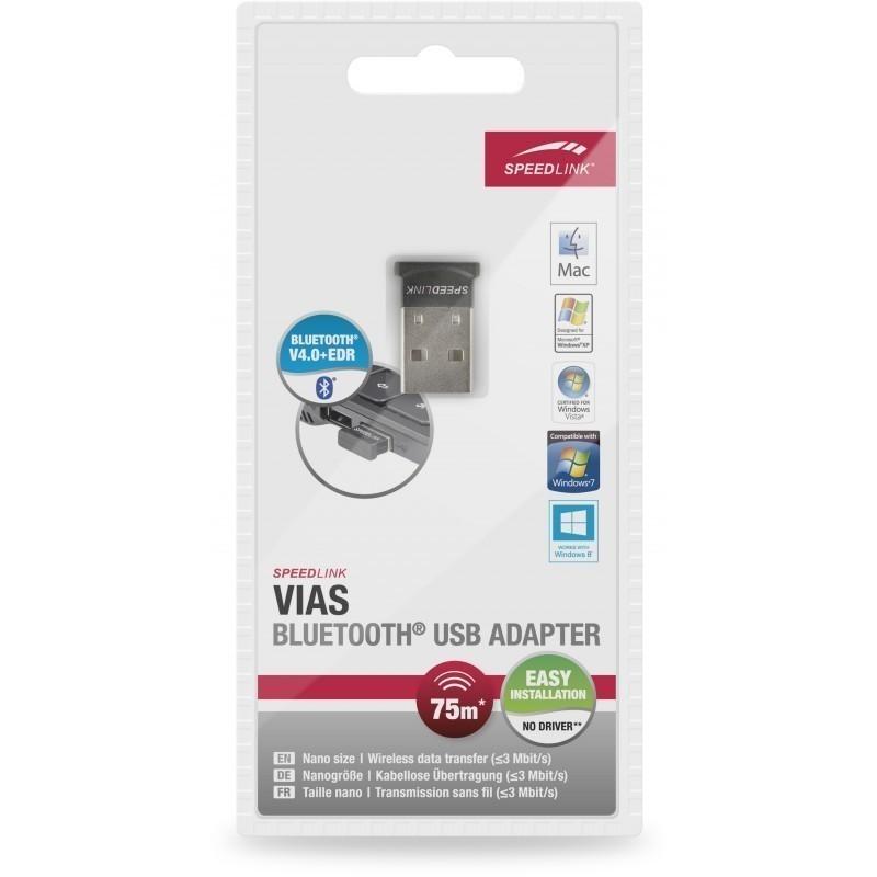 Speedlink Bluetooth adapter Vias Nano (SL7411-BK)