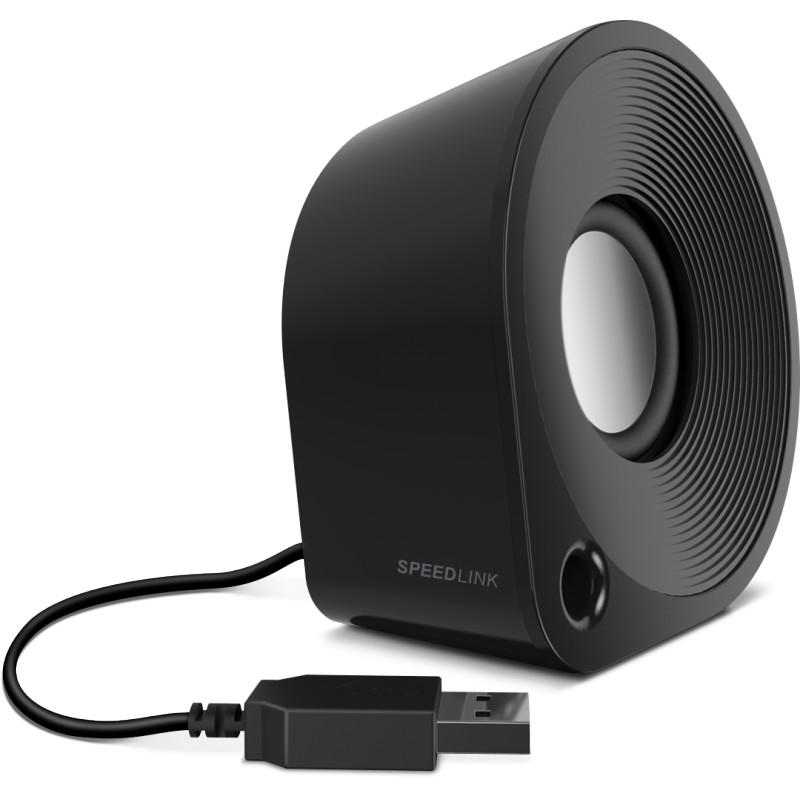 Speedlink speakers Ellipz, black (SL-810000-BKBK)