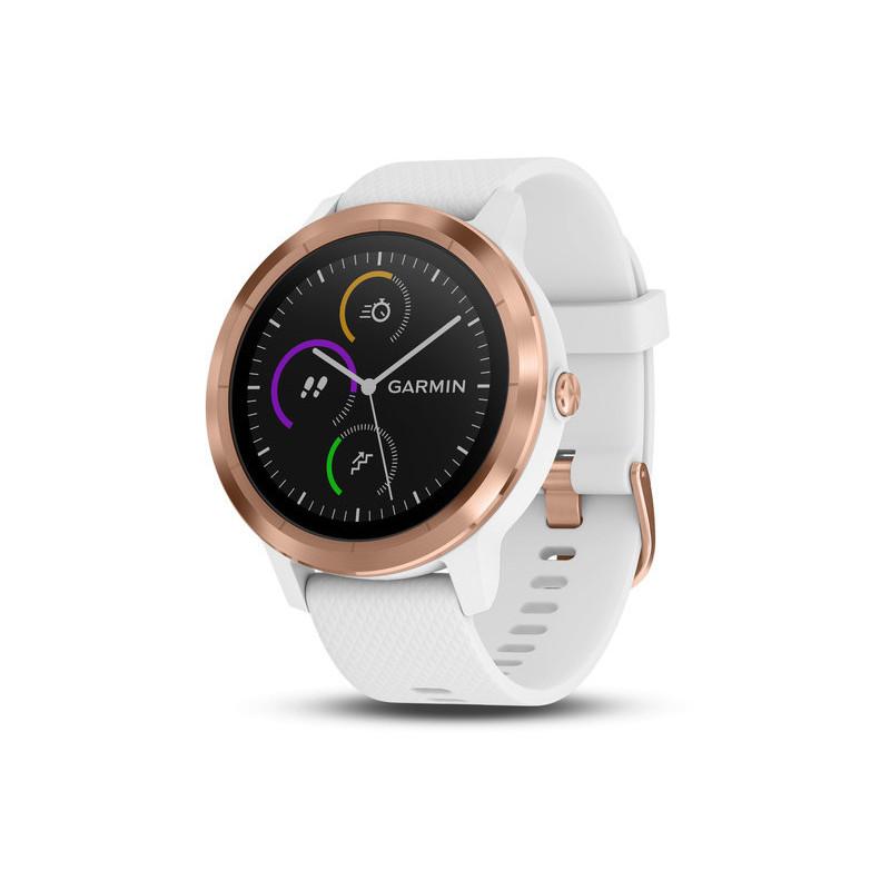 Garmin Vivoactive 3 GPS, valge/roosa kuld