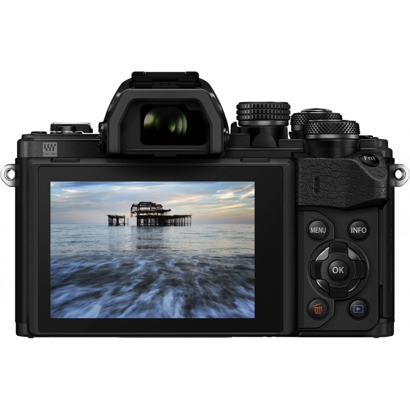 Olympus OM-D E-M10 Mark II + 14-42mm EZ + 40-150mm Kit, black