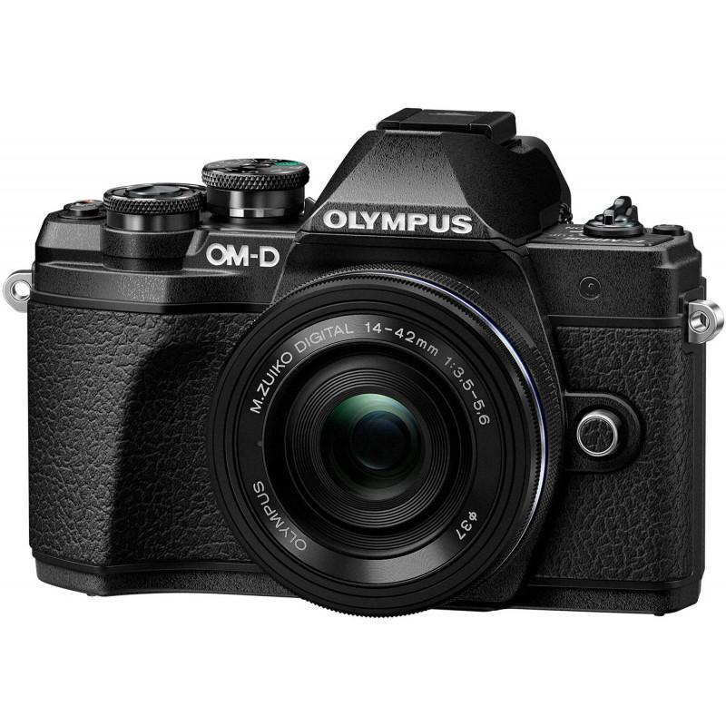 Olympus OM-D E-M10 Mark III + 14-42mm + 40-150mm Kit, black