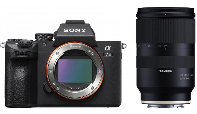 Sony a7 III + Tamron 28-75 мм f/2.8