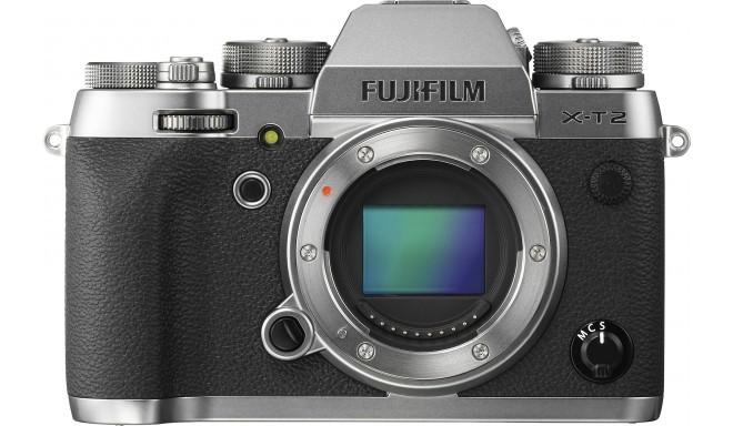 Fujifilm X-T2 korpuss, Graphite Silver Edition