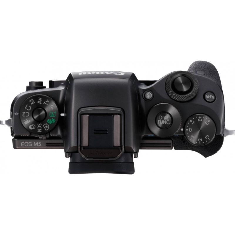 Canon EOS M5 body, black