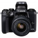 Canon EOS M5 + 15-45 IS STM, black