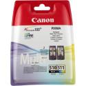 Canon ink cartridge PG-510/CL-511, color/black