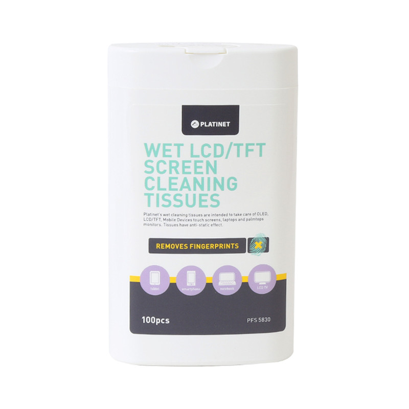 Platinet cleaning wipes PFS5830 100pcs
