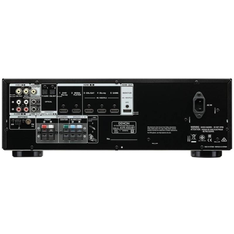 AV receiver Denon  AVR-X550BT (5.2)