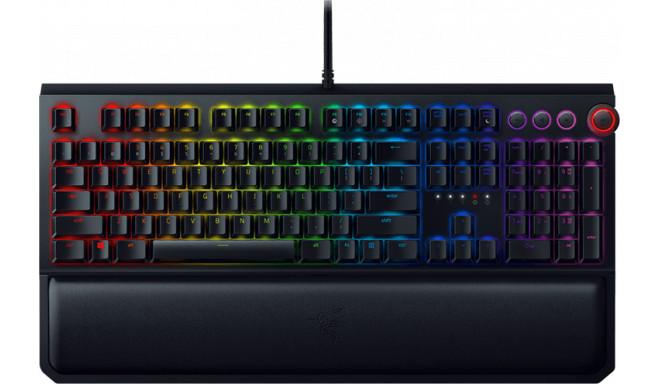 Razer klaviatūra Blackwidow Elite US Green Switches