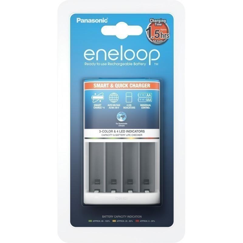 Panasonic eneloop battery charger BQ-CC55E