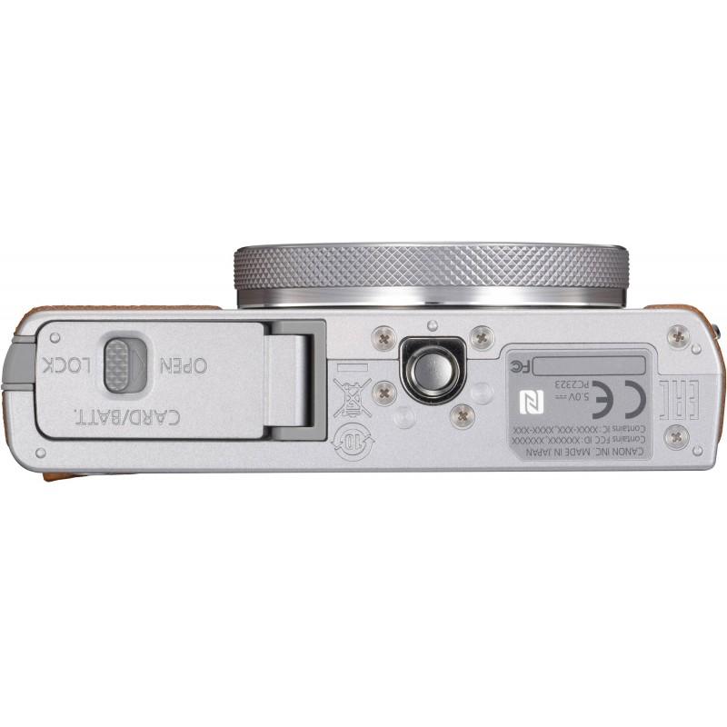 Canon Powershot G9 X Mark II, серебристый