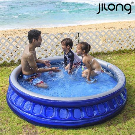 1695259012b Täispuhutav lastebassein Jilong 10271 10271 450 L (175 x 35 cm) Sinine -  Basseinid - Photopoint