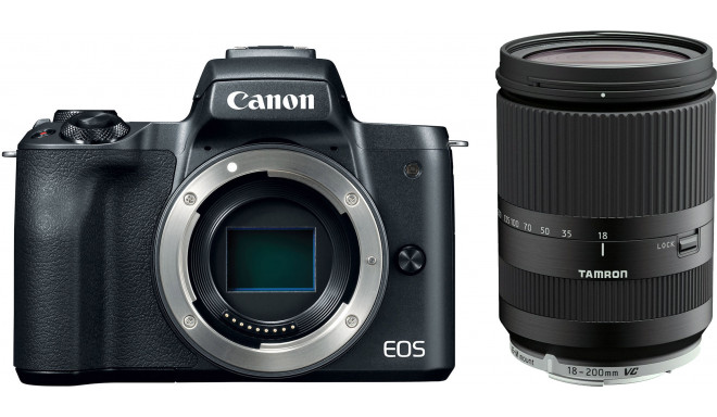 Canon EOS M50 + Tamron 18-200mm VC, must