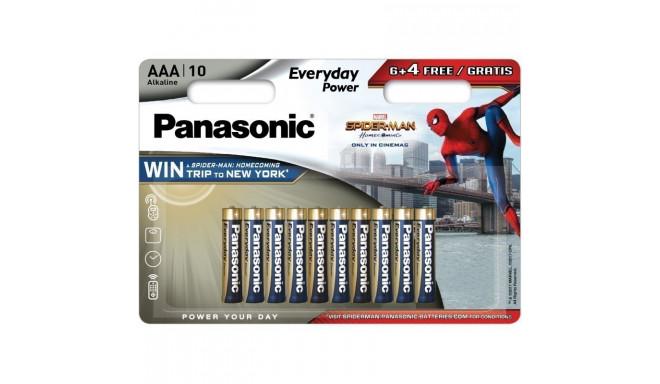 Panasonic Everyday Power patarei LR03EPS/10BW (6+4) S-M