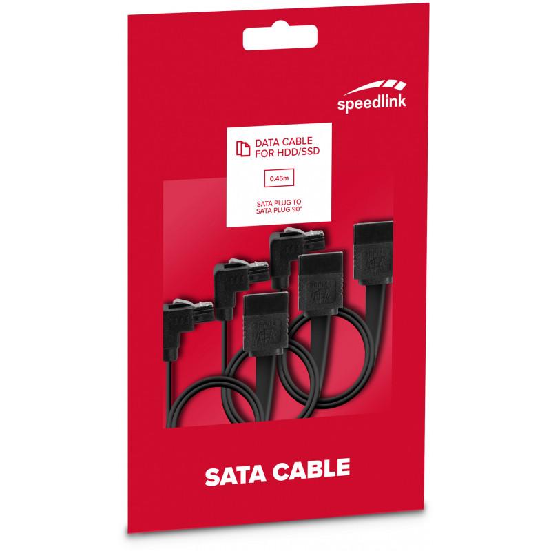 Кабель Speedlink SATA 3 0,45м (SL-170500-BK)