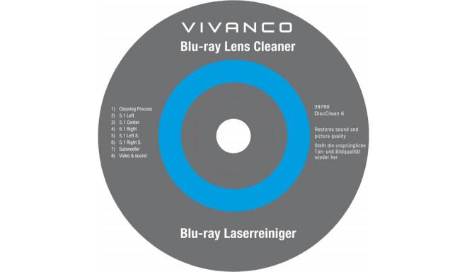 Vivanco DVD/Blu-Ray lēcu tīrītājs (39760)