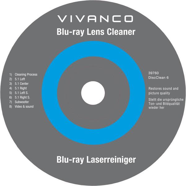 Vivanco DVD/Blu-Ray puhastusplaat (39760)