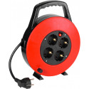 Vivanco extension cord CR 75B 7.5m, red/black (39614)