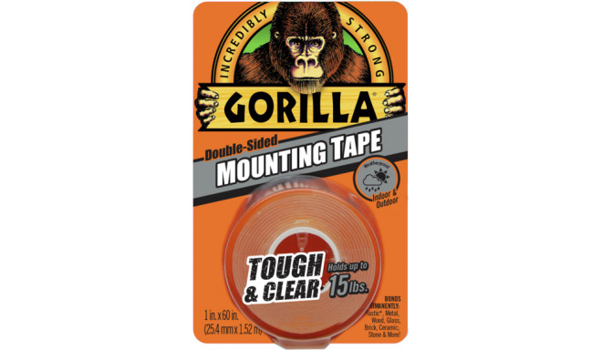 Лента Gorilla Mounting Clear 1.5м