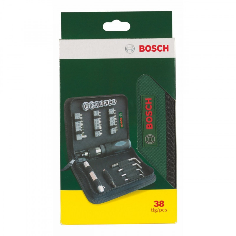 Bosch Mixed-Set 38 parts