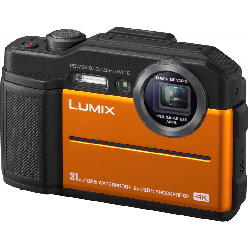 Panasonic Lumix DC-FT7, orange
